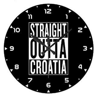 rechte outta Kroatië Grote Klok