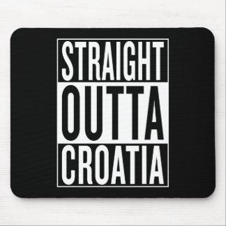 rechte outta Kroatië Muismatten