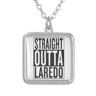 rechte outta Laredo Ketting Vierkant Hangertje