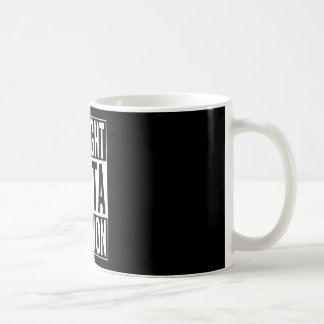 rechte outta Libanon Koffiemok