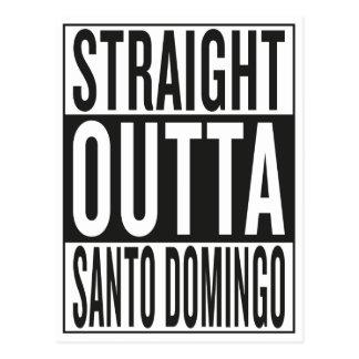 rechte outta Santo Domingo Briefkaart