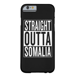 rechte outta Somalië Barely There iPhone 6 Hoesje