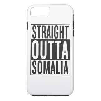 rechte outta Somalië iPhone 7 Plus Hoesje
