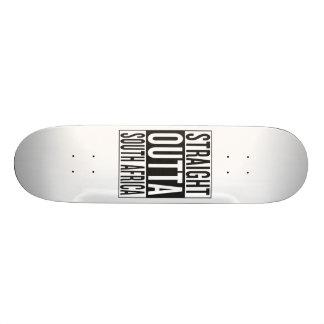 rechte outta Zuid-Afrika 21,6 Cm Old School Skateboard Deck