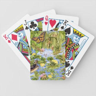 Rechthoekige Kikker Poker Kaarten