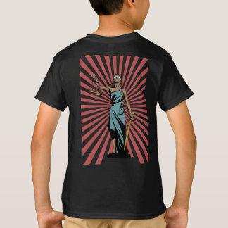 Rechtvaardigheid-sexy Tekst T Shirt