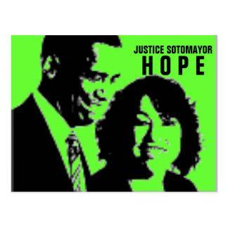 Rechtvaardigheid Sonia Sotomayor Briefkaart