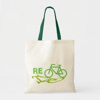 Recycleer het ontwerp van de Fiets Draagtas