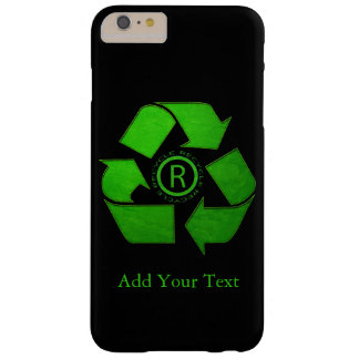 Recyclen Logo door Shirley Taylor Barely There iPhone 6 Plus Hoesje