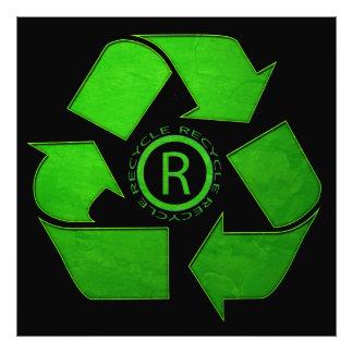 Recyclen Logo Foto Print