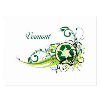 Recyclen Vermont Briefkaart