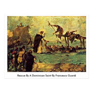 Redding door een Dominicaanse Heilige door Briefkaart