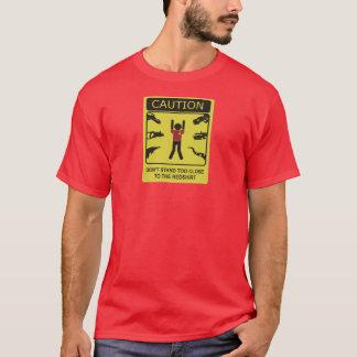 redshirt gevarenzone t shirt
