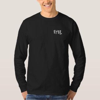 Reeks apart aan Donker Lang Sleeve YHWH T Shirt