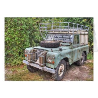 Reeks III 109 van Land Rover Kaart