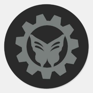 Reeks van de Sticker van het Logo van het project