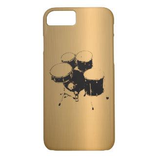 Reeks van het Effect van het Koper van het Brons iPhone 8/7 Hoesje