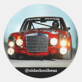 Reg. de sticker van Mercedes van het Varken
