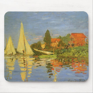 Regatta in Argenteuil door Claude Monet Muismat