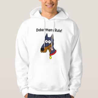 """""""Regel Dobermans!"""" Hoodie"""