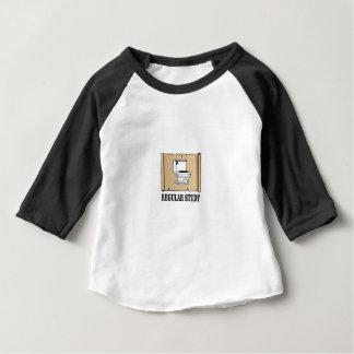 regelmatige studiepret baby t shirts
