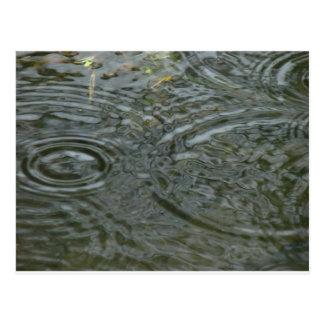 regen dalingen briefkaart