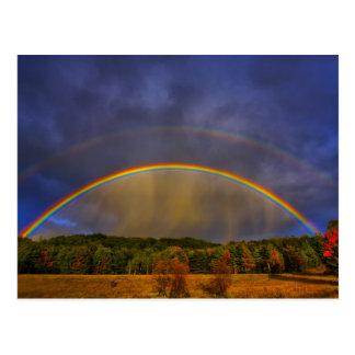 Regenboog #0954 briefkaart