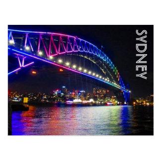 regenboog brug Sydney Briefkaart