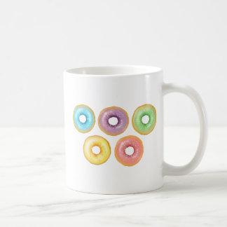 Regenboog Donuts Koffiemok