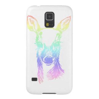 Regenboog Fawn Galaxy S5 Hoesje