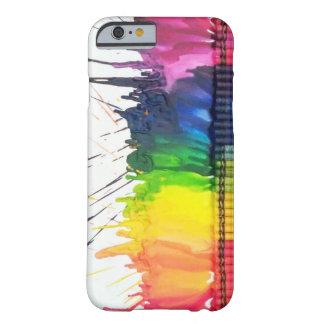 Regenboog gesmolten iPhone 6 van de kleurpotloodku