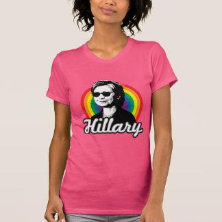 Regenboog Hillary Clinton 2016 - Koele Clinton - T Shirt