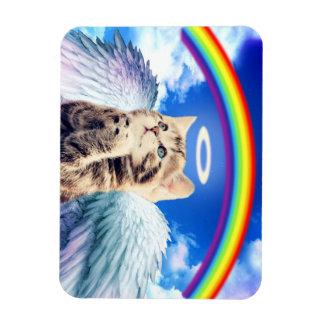 regenboog kat rechthoek magneten