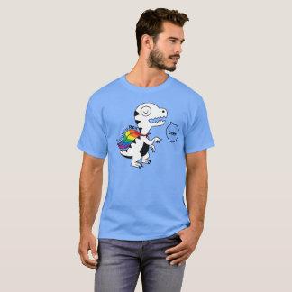Regenboog Rex Grrr T Shirt
