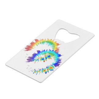 regenboog ringen creditkaart flessenopener