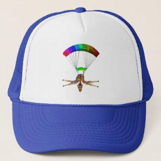 Regenboog Skydiving door Happy Juul Company Trucker Pet