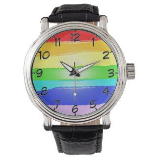 Regenboog v2 horloges