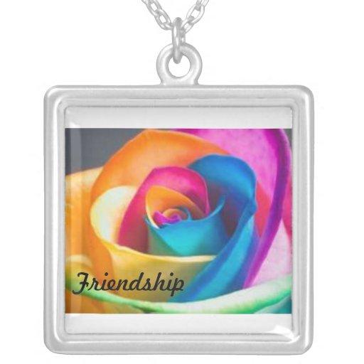 Regenboog van de vriendschap nam toe kettingen