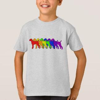 Regenboog Vizsla T Shirt