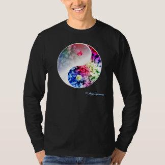 Regenboog Yin Yang T Shirt