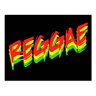 Reggae Briefkaart