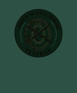 Regiment Geneeskundige Troepen Veteraan Shirt