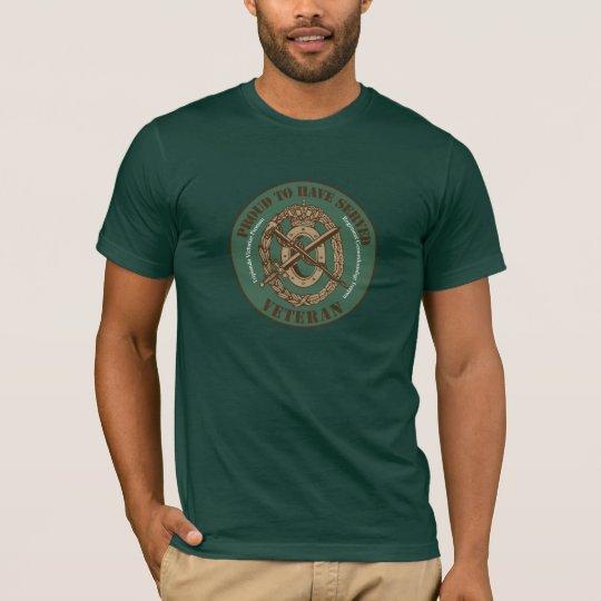 Regiment Geneeskundige Troepen Veteraan T Shirt