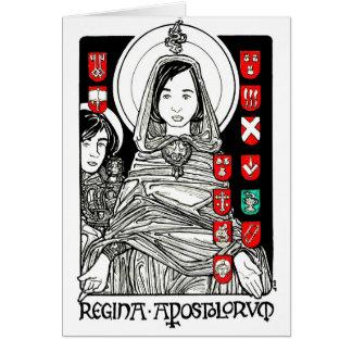Regina Apostolorum Notecard Kaart