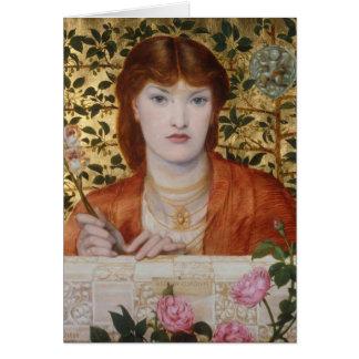 Regina Cordium - Dante Gabriel Rossetti Kaart