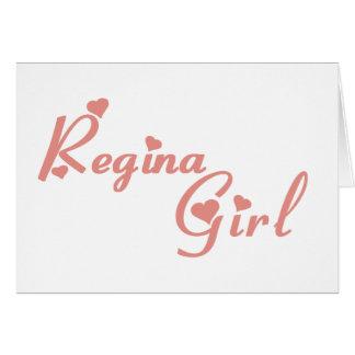 Regina Girl Kaart