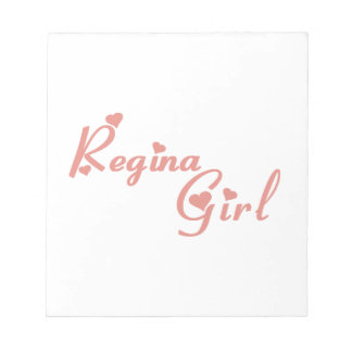 Regina Girl Kladblok