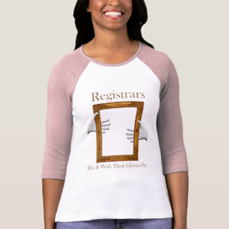 Registrars Do It With Hun Handschoenen - Overhemd T Shirt
