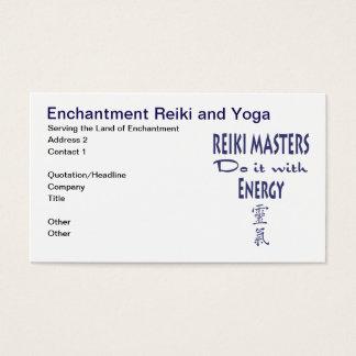 Reiki Masters Do It met Energie Visitekaartjes