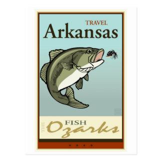 Reis Arkansas Briefkaart